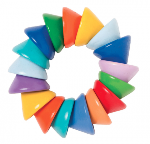 Baby Cones Bright Teething Ring, Holiday Gifts for Children