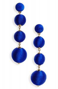 Criselda Ball Shoulder Duster Earrings, Holiday Gifts for Women