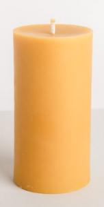 Beeswax Pillar, Thank You Gifts for Your Hosts