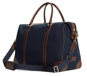 Canvas and Leather Duffle, Holiday Gifts for Men