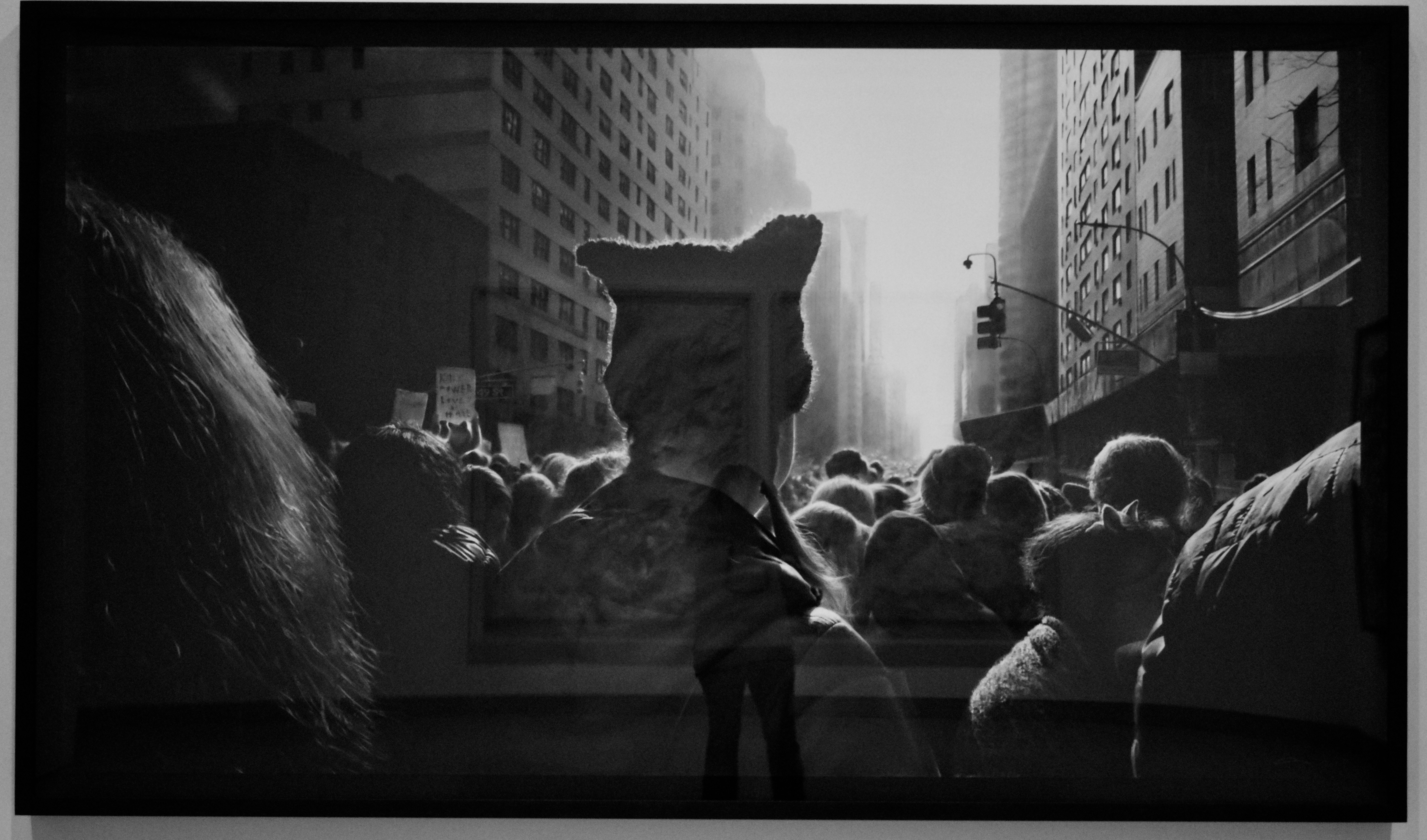 Photo of Robert Longo's Untitled, Black Pussy Hat i Women's March, It's the weekend number 31