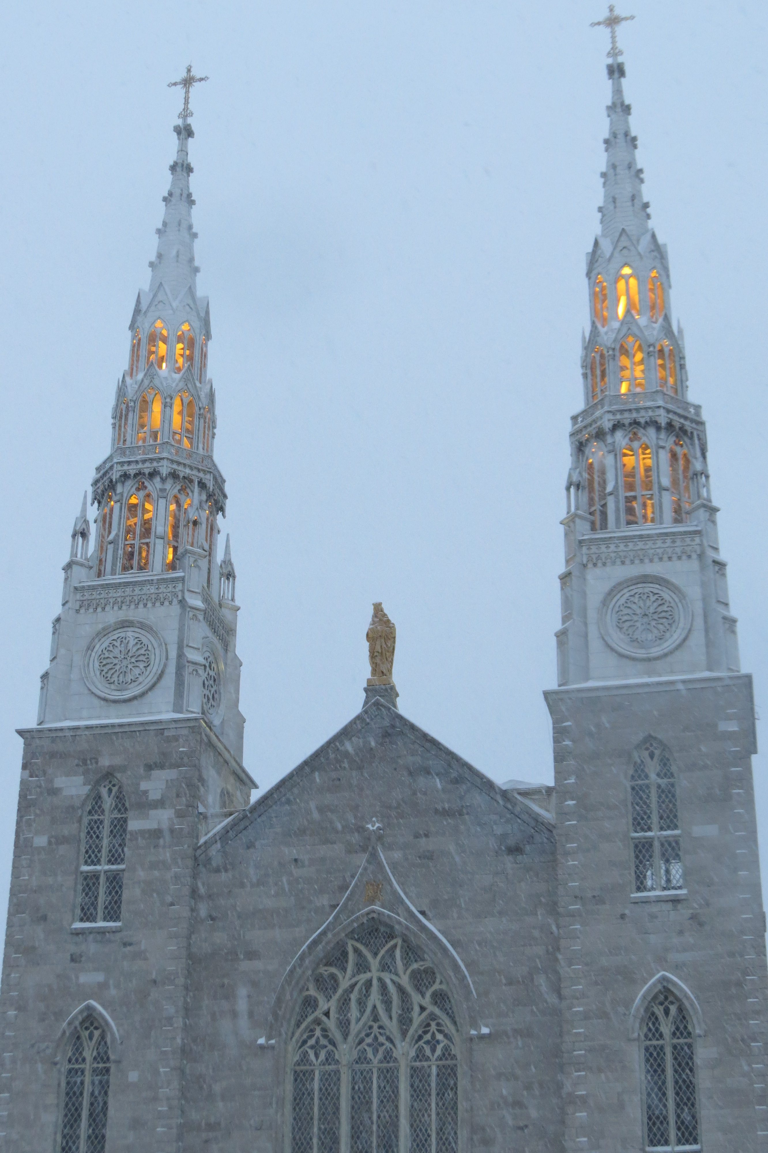 Outside Notre-Dame in Ottawa, Favorite Things Number 9
