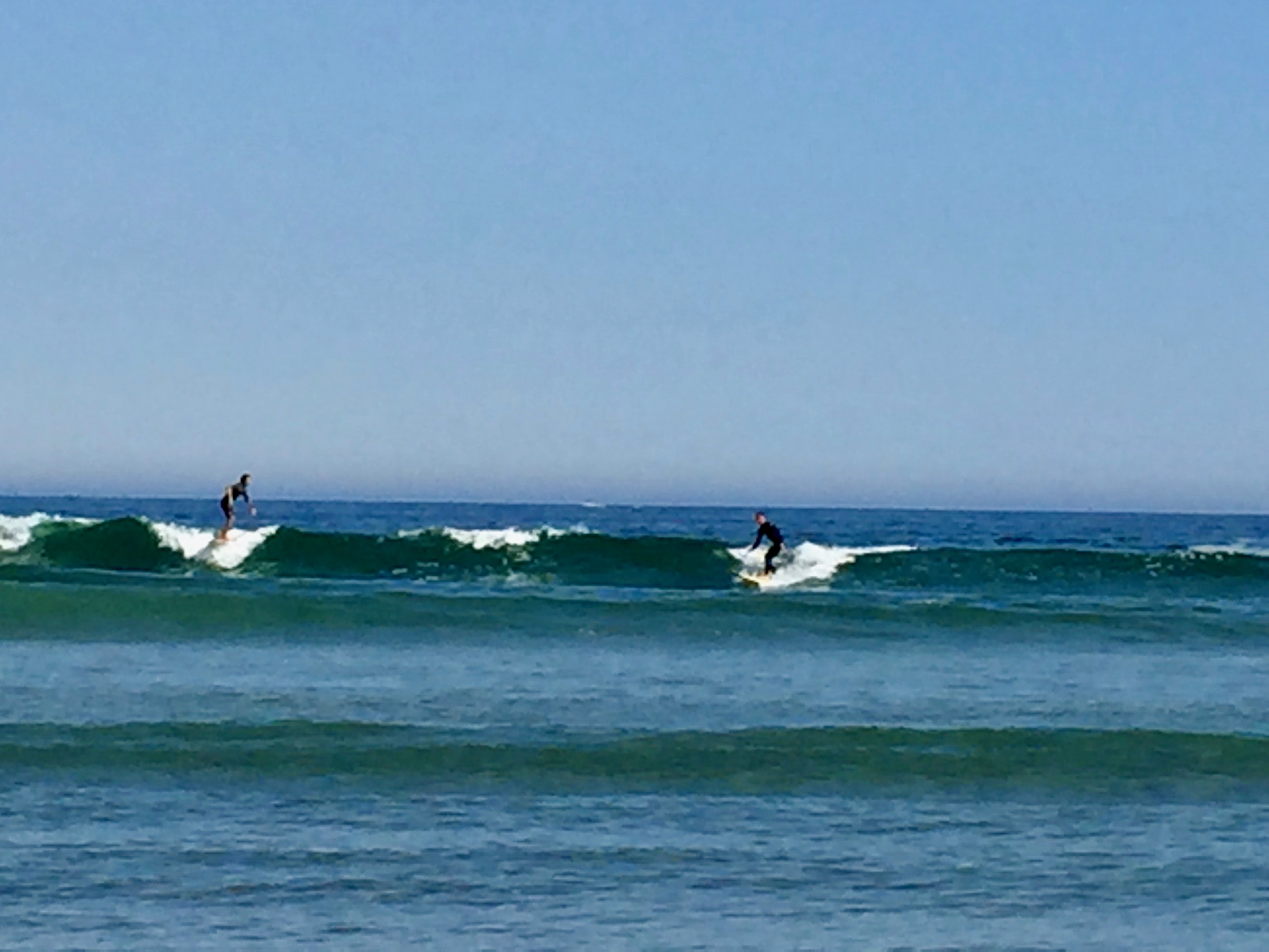 It's the weekend, Number 69. Surfers at Good Harbor Beach, Gloucester MA